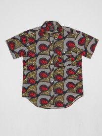 Woolrich Woolen Mills Africa Shirt Red