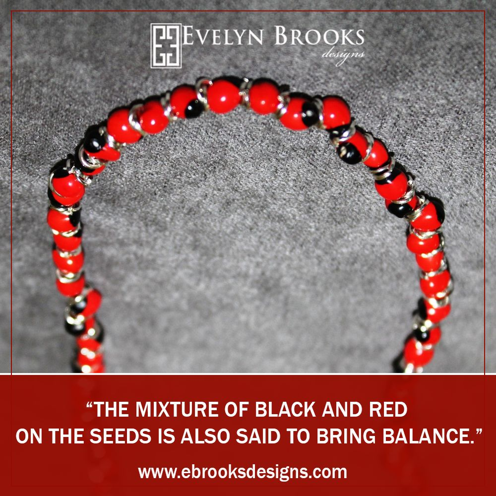 The mixture of black and red on the seeds is also said to bring balance.  #happyshopping #earlychristmas #birthdaygifts  #EthicalFashion #Handmade #sustainablefashion #mompreneur #latinamoms #Peruvianjewelry #myEBDstyle #Evelynbrooksdesigns #ecofriendly #jewelry #peru #Huayruros #ecochic #etsysellers #etsymom #etsymakers #handmadeatamazon #styledonamazon #dcartists #bythings #dcarts #madeindc #shopethical #latinapower #styledeliverednow