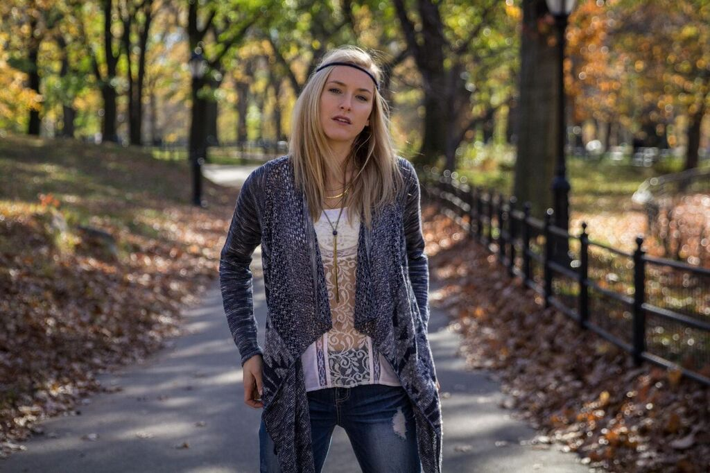 Fashion shoot at NYC Central Park. Missing the #fall weather.