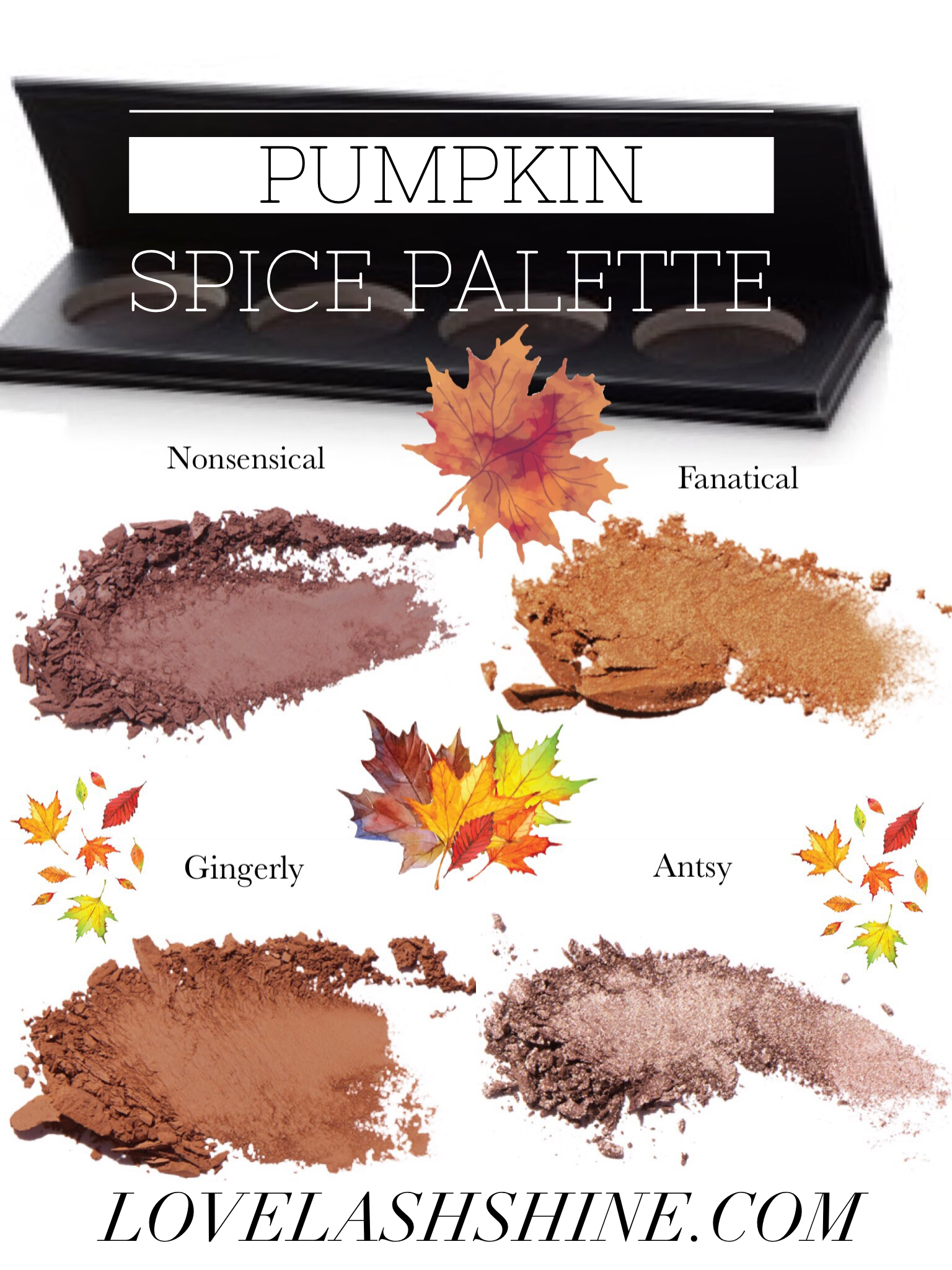 Create The Perfect Fall Look For Your Eyes With A Custom