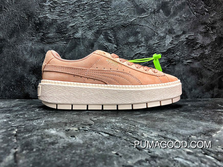 591cad5ff86 ... hot sale online 58153 ae253 Authentic Puma SUEDE PLATFORM Flatform Shoes  Height-Increase Shoes SKU ...