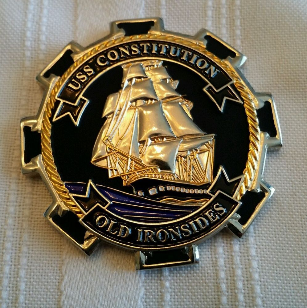 Uss Constitution Old Ironsides Navy Chief Navy Pride