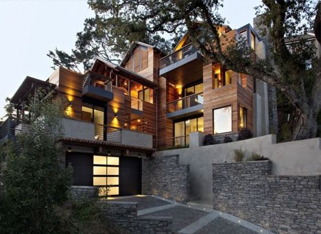 Stone and wood combination