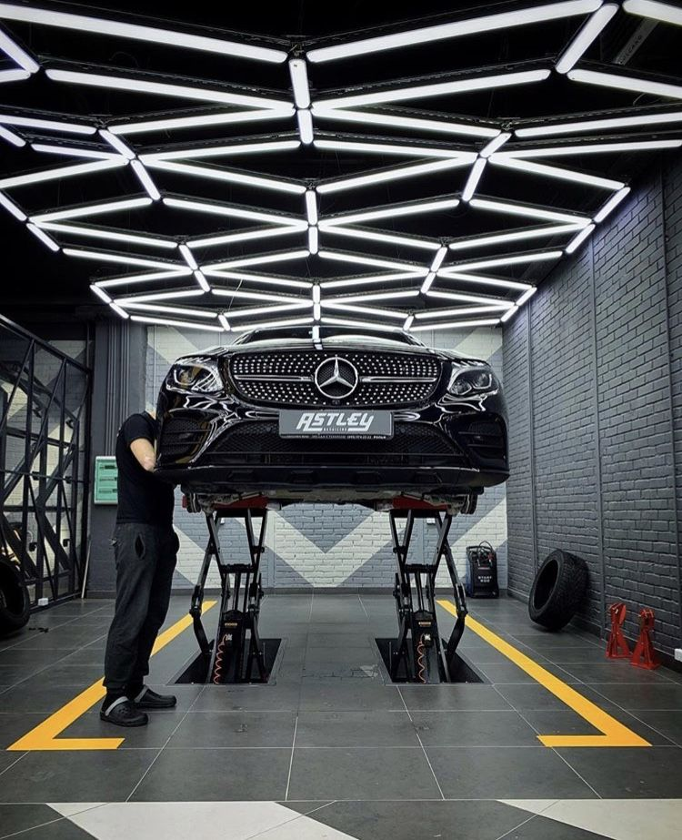 Astley Detailing Garage Lighting Goals Garage Lighting Garage Design Interior Car Showroom Design