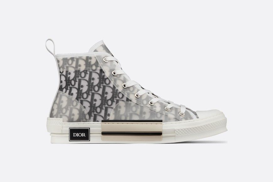 B23 High-Top Sneaker White and Black
