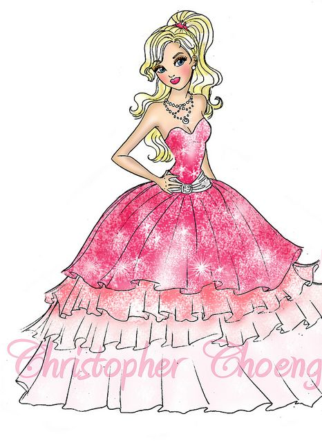 Barbie in a Fashion Fairytale Drawings, Animation and Characters - copy coloring pages of barbie a fashion fairytale