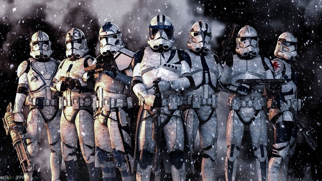 Clone Troopers Star Wars Art Star Wars Poster Star Wars Pictures
