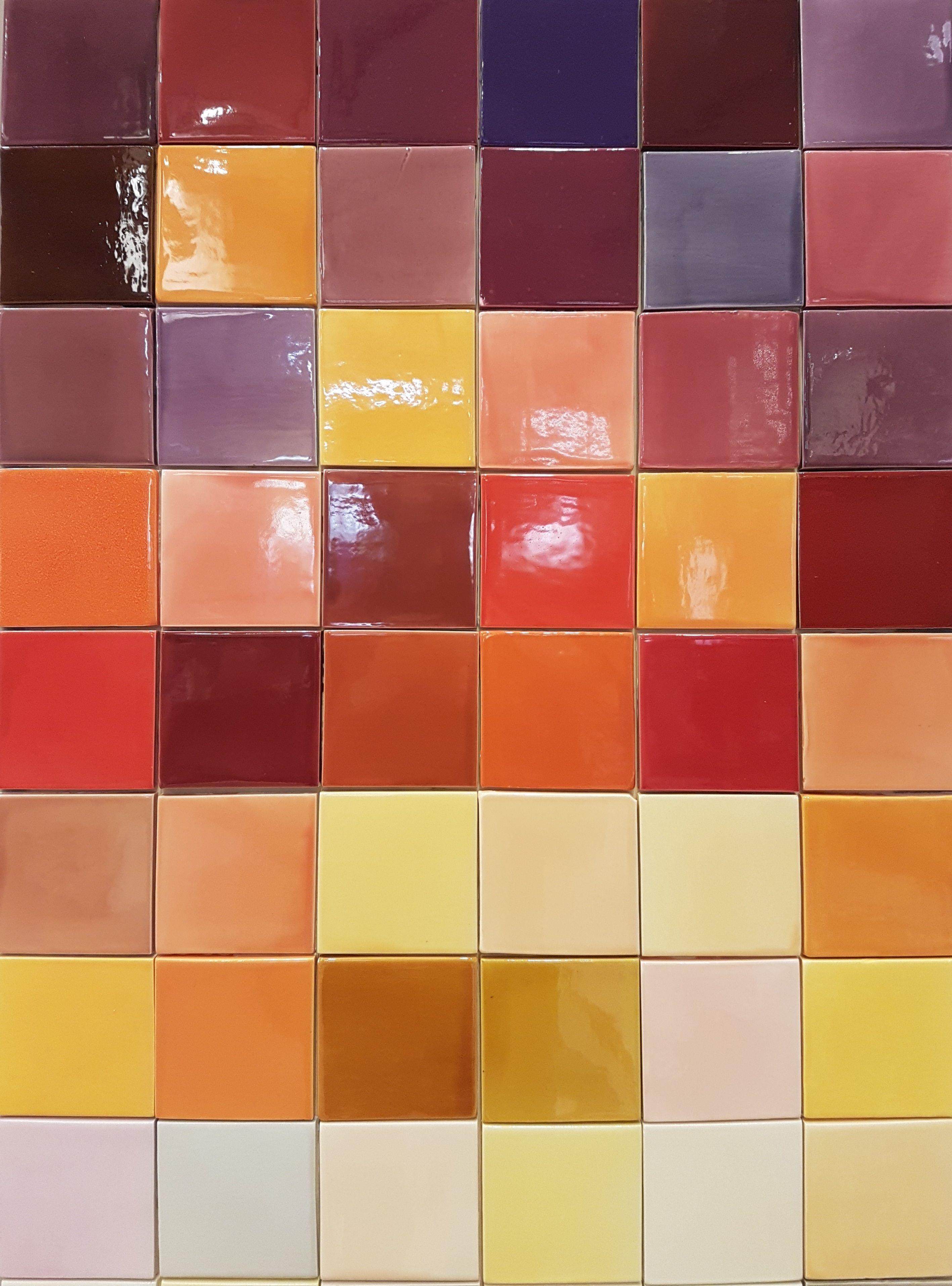 Carrelage De Cuisine Ceramiques Couleur 10 X 10 Parquet