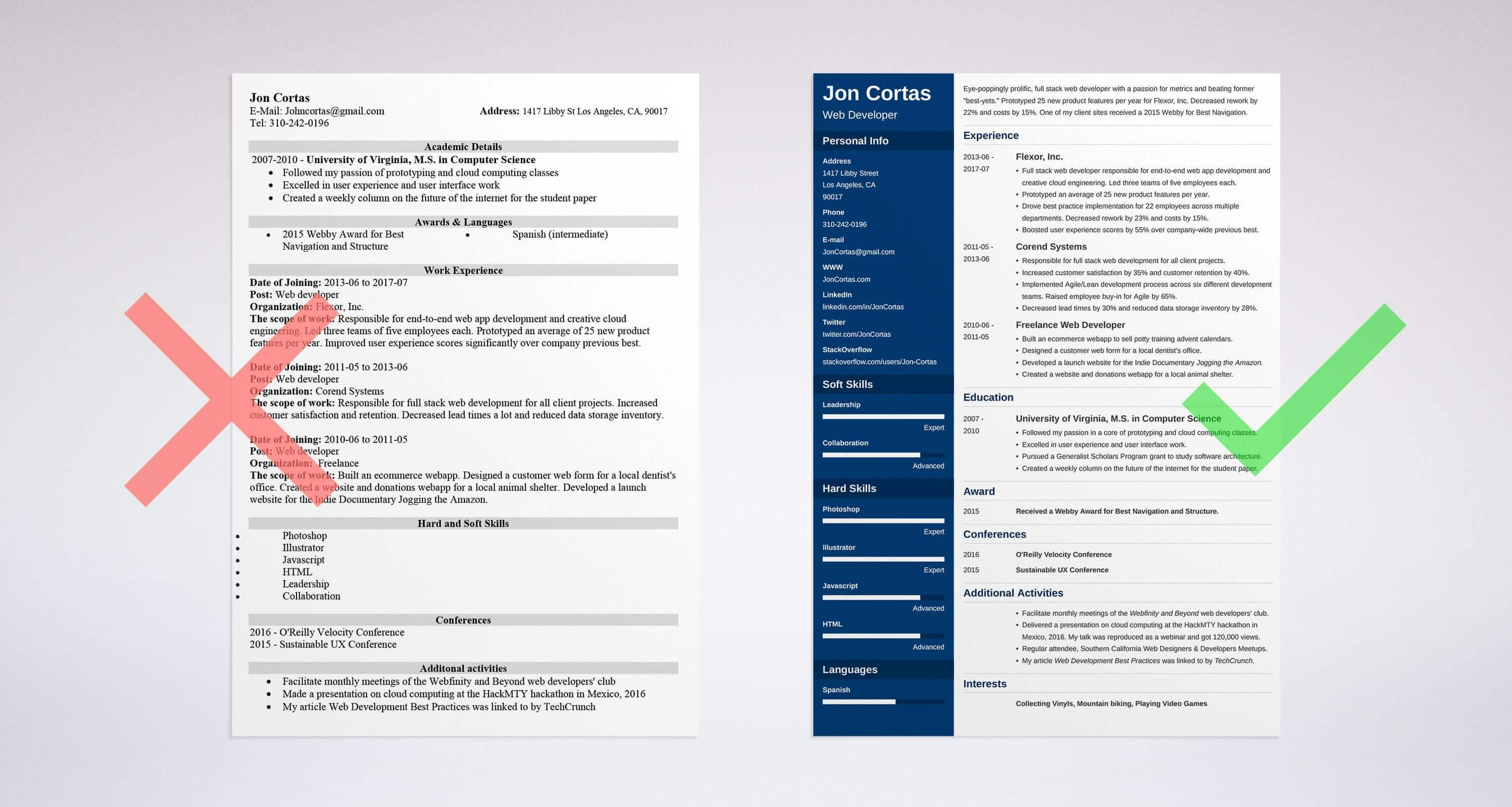Pin on Great Resume Examples