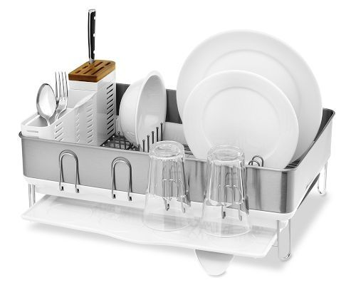 Best Simplehuman Steel Frame Dish Rack Dish Racks Dish 400 x 300