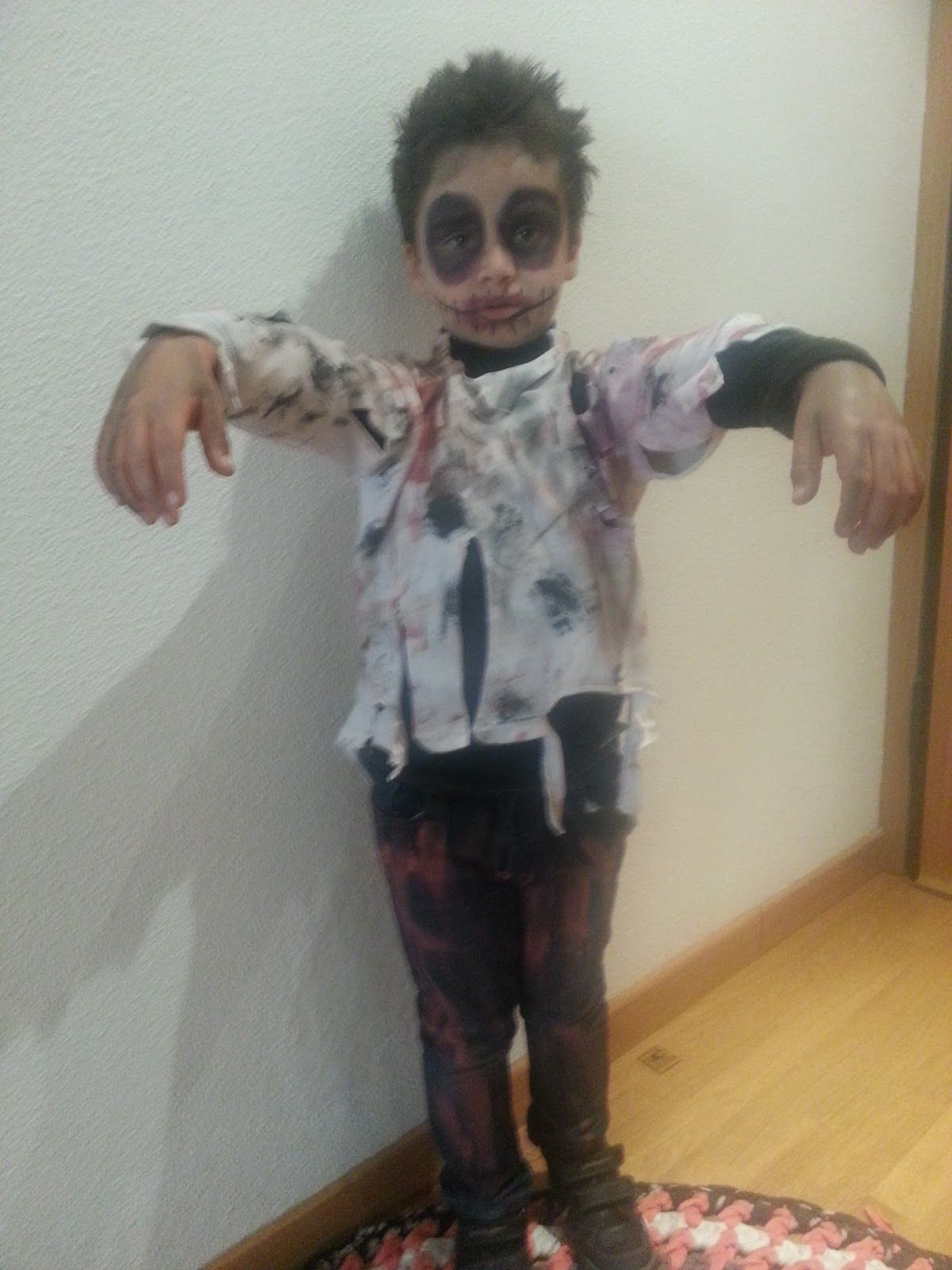 foto de Más de 25 ideas increíbles sobre Disfraz zombie casero en