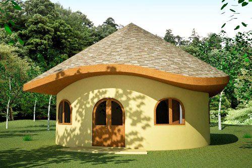 Earthbag Building Hobbit House Plan Natural Building House