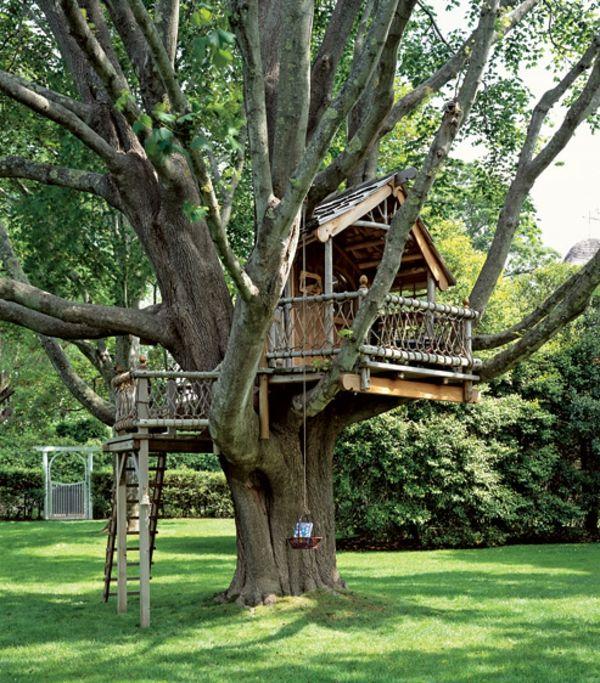 une cabane dans les arbres luxe nature et chic les arbres cabanes et jolies. Black Bedroom Furniture Sets. Home Design Ideas