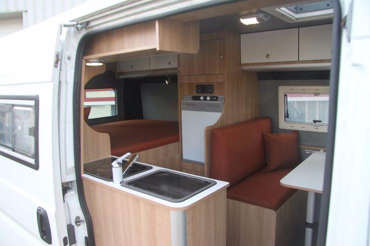 Tweedehands Campers Te Koop Gebruikte Campers In Heel Nl Transit Camper Ford Transit Camper Camper Van Conversion Diy