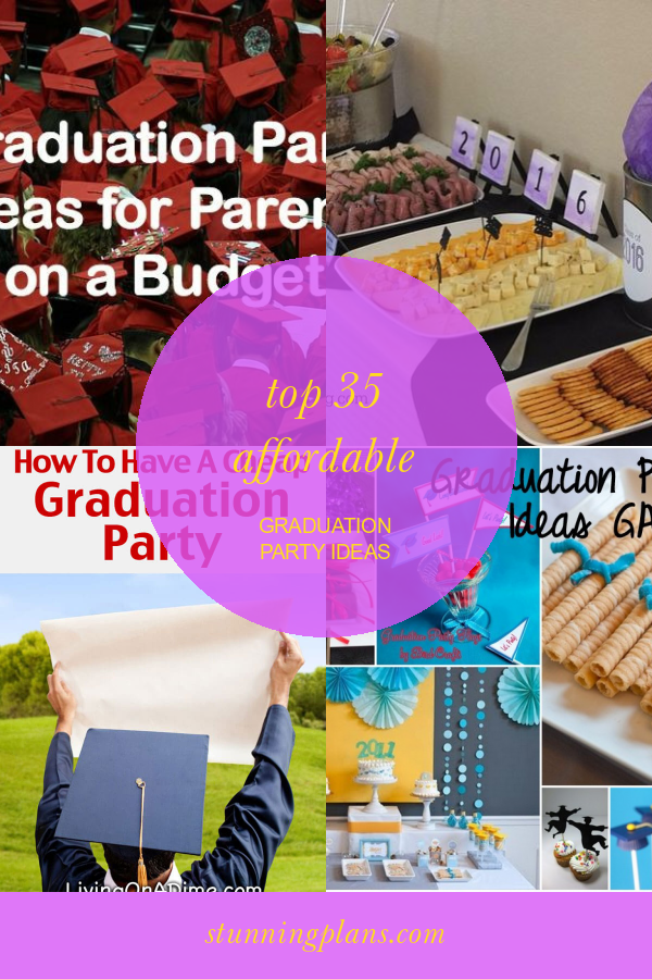 Top 35 Affordable Graduation Party Ideas #affordable #graduation #party #ideas #GraduationPartyIdeas #affordablegraduationpartyideas