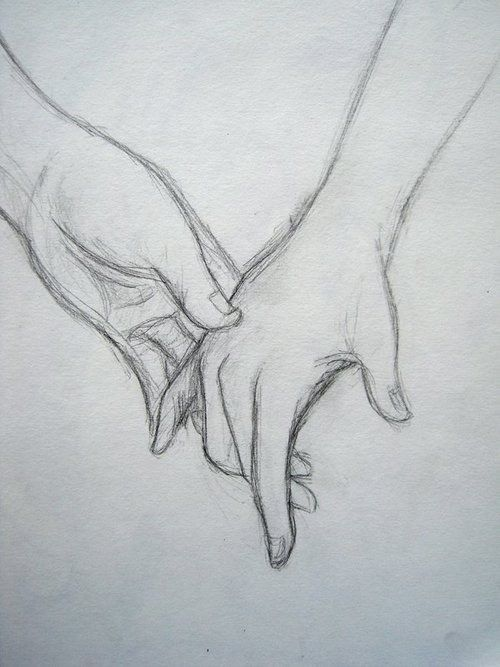 Relationship Drawings Holding Hands