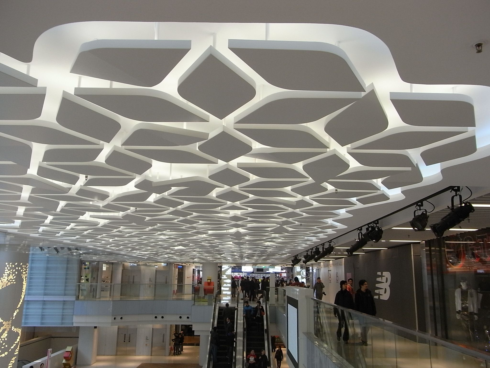 shopping center interior design Buscar con Google CEILINGS