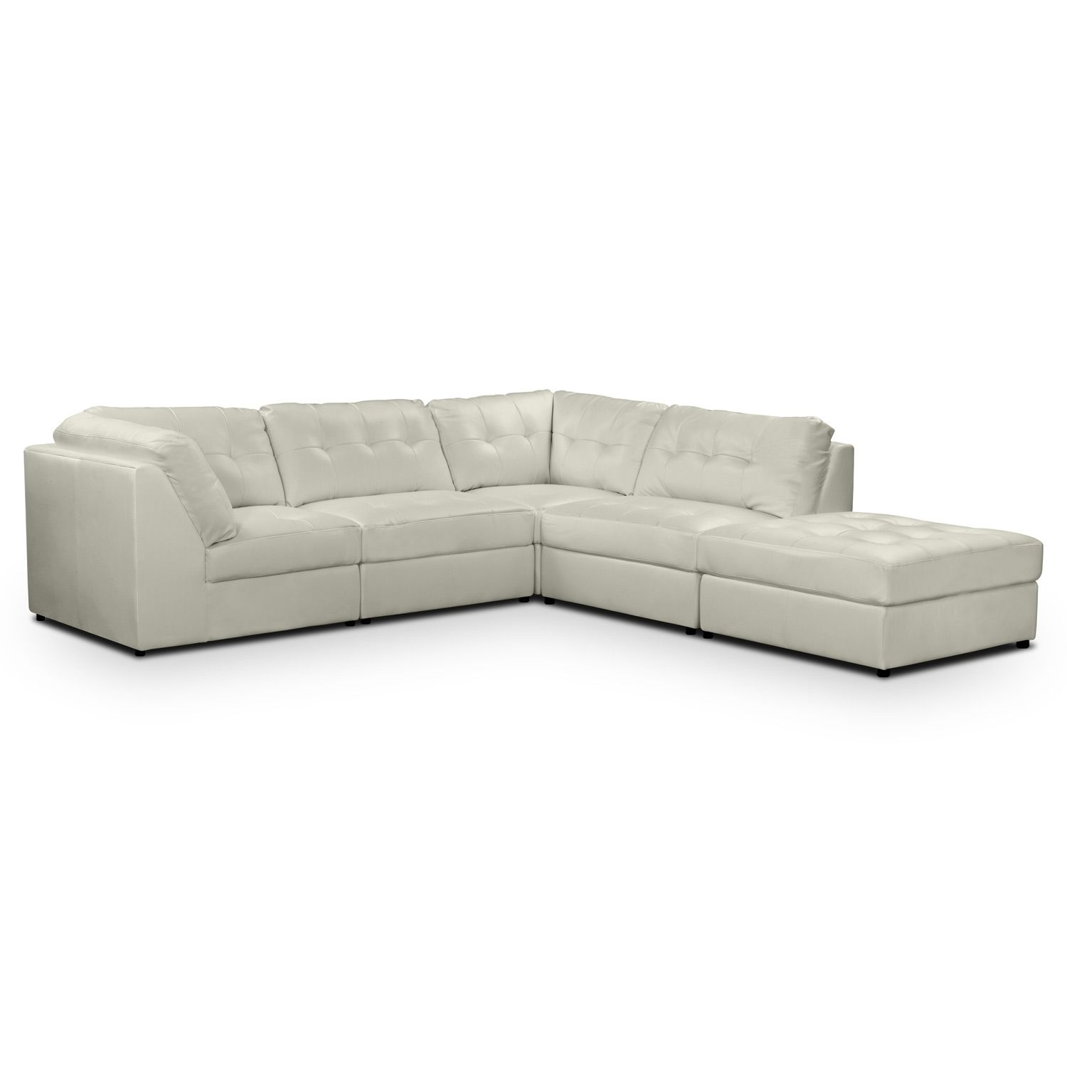 Sectional - Value City Furniture  sc 1 st  Pinterest : value city leather sectionals - Sectionals, Sofas & Couches