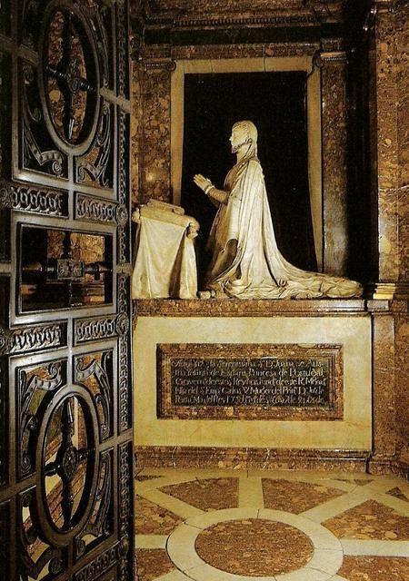 tumbas de JUANA DE AUSTRIA - DE POMPEO LEONI