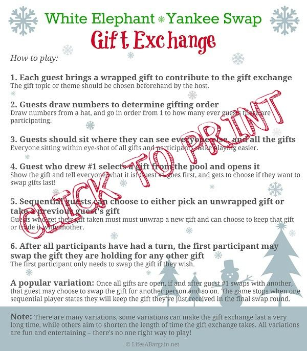White Elephant Gift Exchange Party White Elephant Gifts Exchange Funny Christmas Poems Gift Exchange Poem