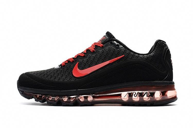 info for dc4fc f888a Nike Air Max 2017.5 Sport Running Shoes Men Black Red