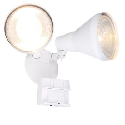 Defiant 180 Degree White Motion Activated Outdoor Flood