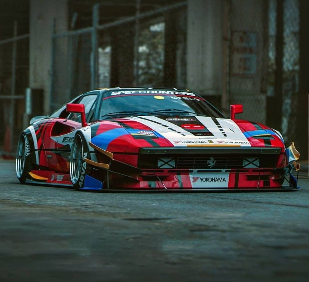 Ferrari 288 GTO..
