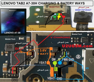 Lenovo Tab 2 A730 Charging Solution Jumper Problem Ways Charging Not Supported | me