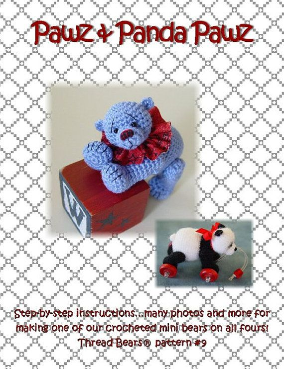 OVeR 30 off CYBer PaTTeRN SALE crochet BeaR oN aLL by PRiMiTeDS ...