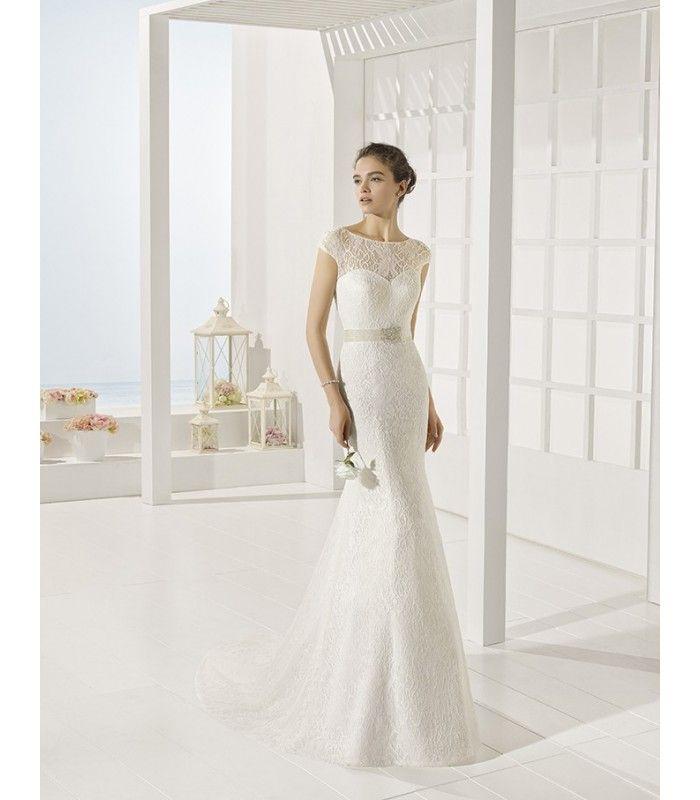 vestido de novia yaiza de luna novias.(1250€) | wedding
