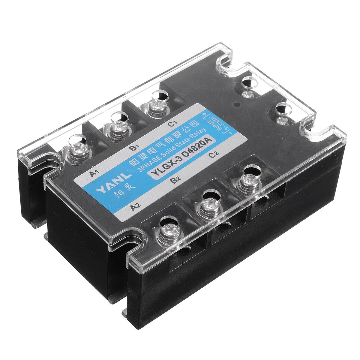 3 Phase DC AC Solid State Relay SSR20A 20A 332VDC480VAC - Solid State Relay Dc Arduino