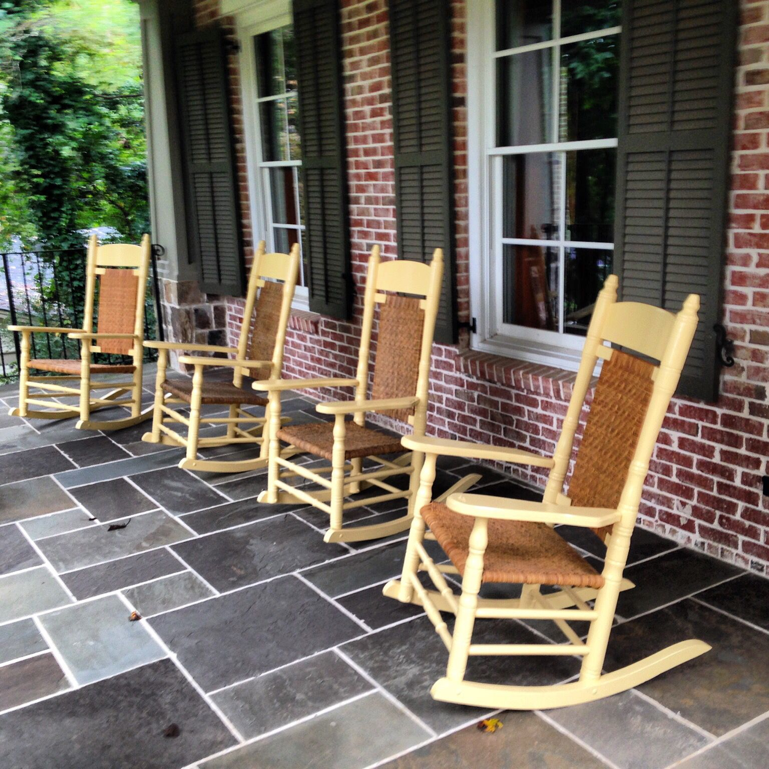 Brumby Rocking Chair in custom yellow Brumby Rocking chairs are