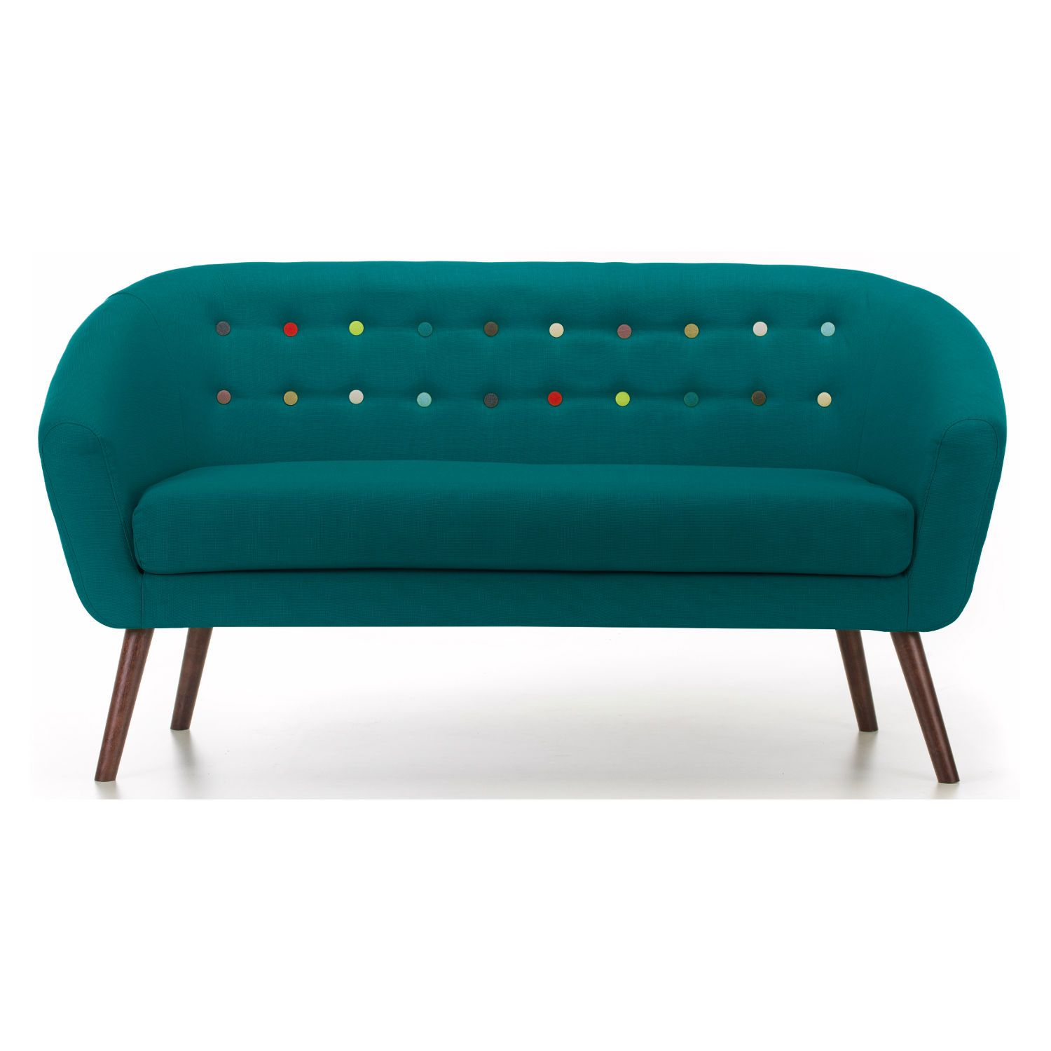 Athena 2 Seater Sofa Teal | Teal Coloured Home Furnishings and ...