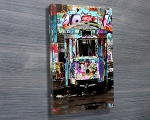 LONESOME $26.00–$741.00 We are pleased to bring you an exclusive collection of these Tram City images taken from the the old abandoned Glebe Tram Depot by photographer Steve McLaren. These canvases look truly spectacular on the wall. http://www.canvasprintsaustralia.net.au/ #CanvasPrintsSydney #Photooncanvas
