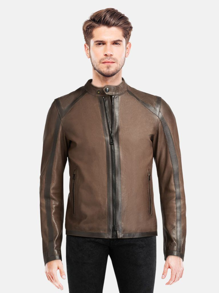 Brown Stylish Leather Jacket For Men Idealjackets Com Stylish Leather Jacket Leather Jacket Men Leather Jacket [ 1024 x 768 Pixel ]