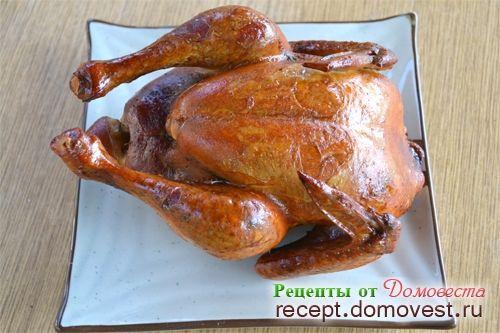 Рецепты копчения курицы в духовке