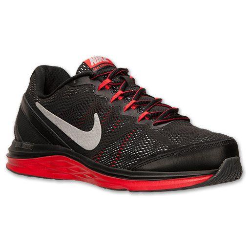 Men's Nike Dual Fusion Run 3 Running Shoes | Finish Line | Dark  Grey/Metallic