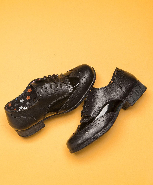 Schooled Kid Shoes Dress Shoes Men Black Boots