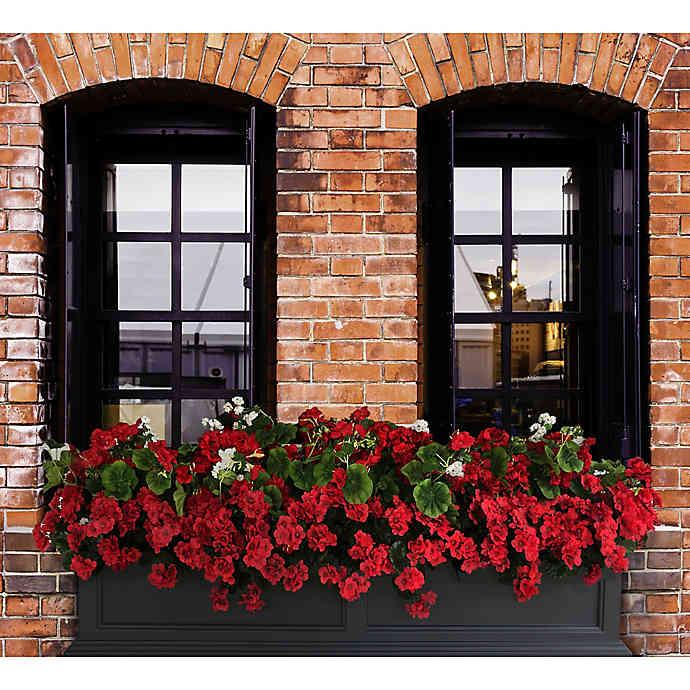 Mayne Fairfield Window Box In Black Fairfield Window Box Window Box Window Box Flowers