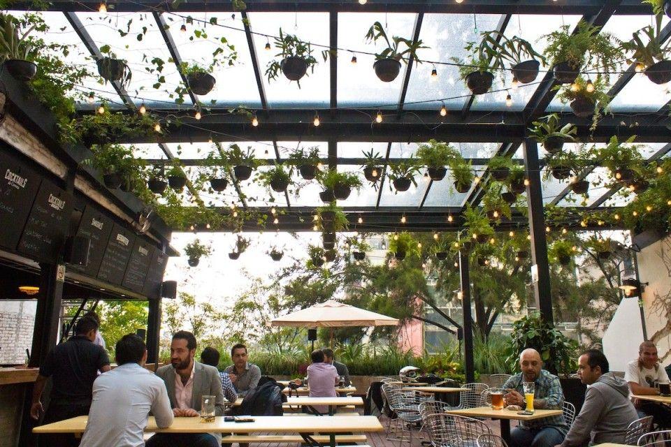 Mercado Roma Murales Restaurante Exterior Restaurante