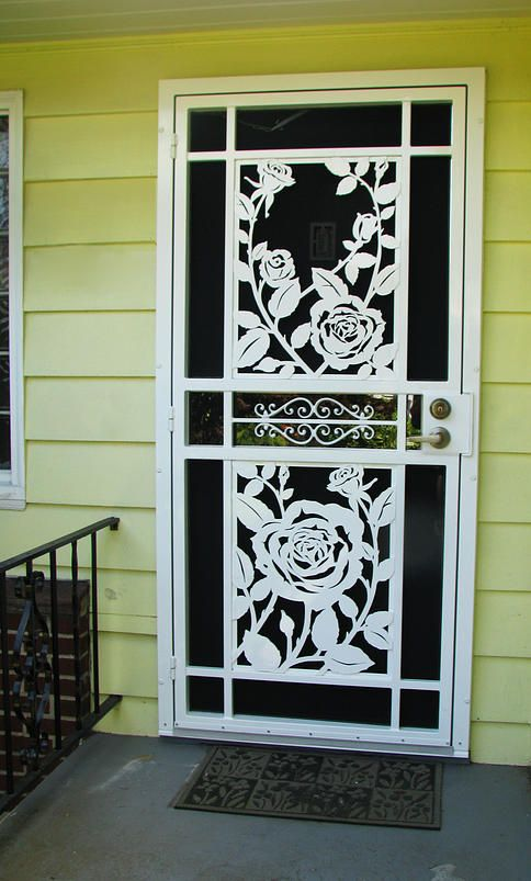 Mascotte Home Security Doors Gallery Portland Oregon In Black
