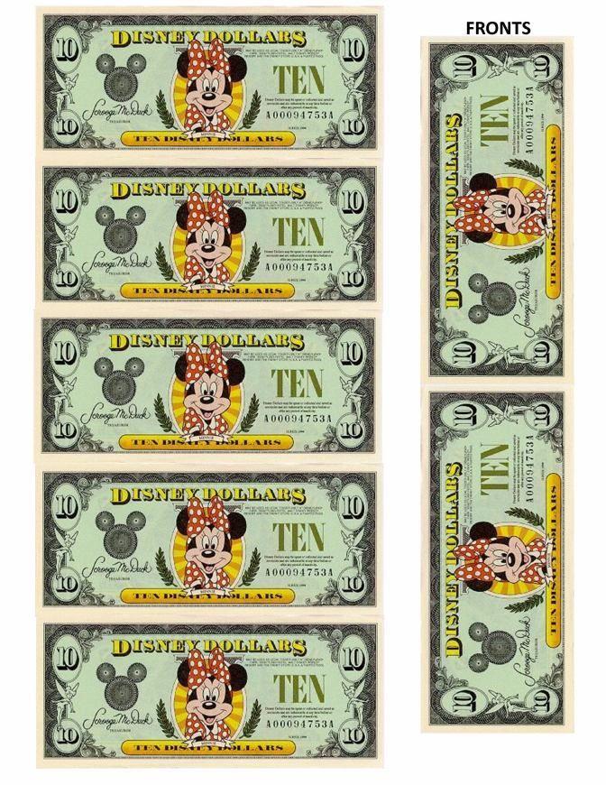 Disney Dollars- $10 front - 2550x3300px