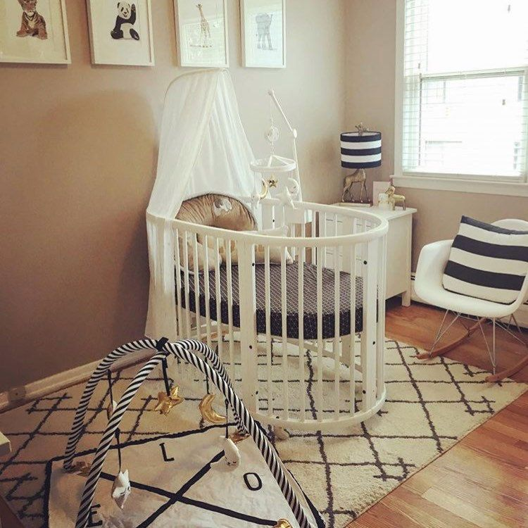 What A Gorgeous Nursery With This Stokke Sleepi Crib In Our Nordic