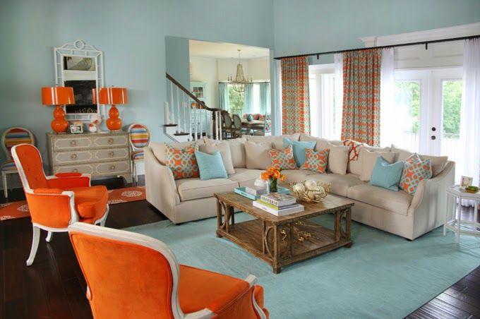 Ideas para decoracion de interiores con color azul for Pintura azul para interiores