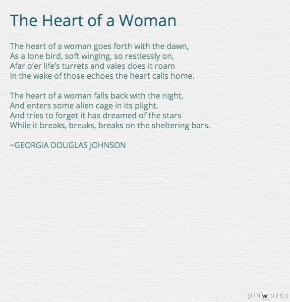 Georgia Douglas Johnson Poems 2