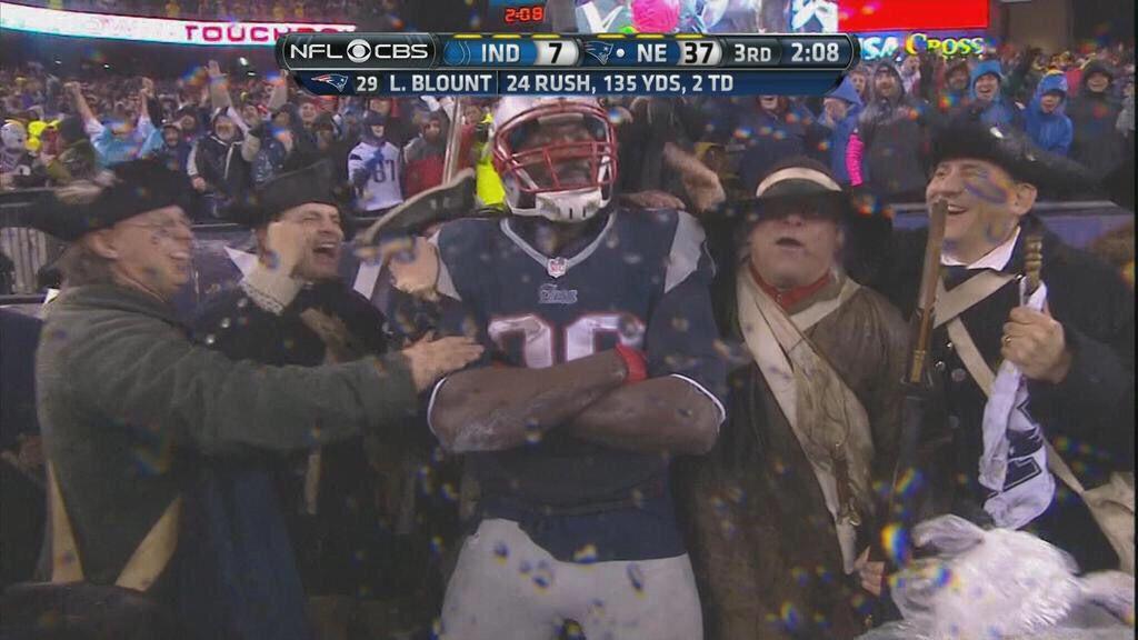 Blount And The Minutemen New England Patriots Nfl The Minutemen