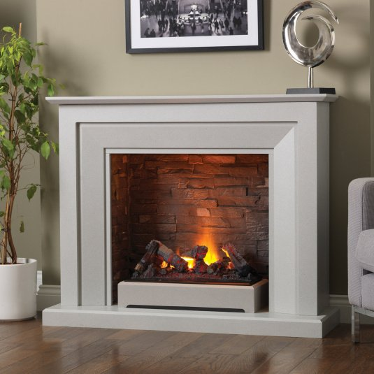 Napoli Terano Grey Electric Fire Suite In 2021 Electric Fire Suites Electric Fires Free Standing Electric Fireplace
