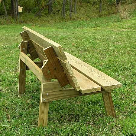 Convertible Bench Table Construction Plans Ranch Ramblins Bench Table Picnic Table Bench Picnic Table Plans