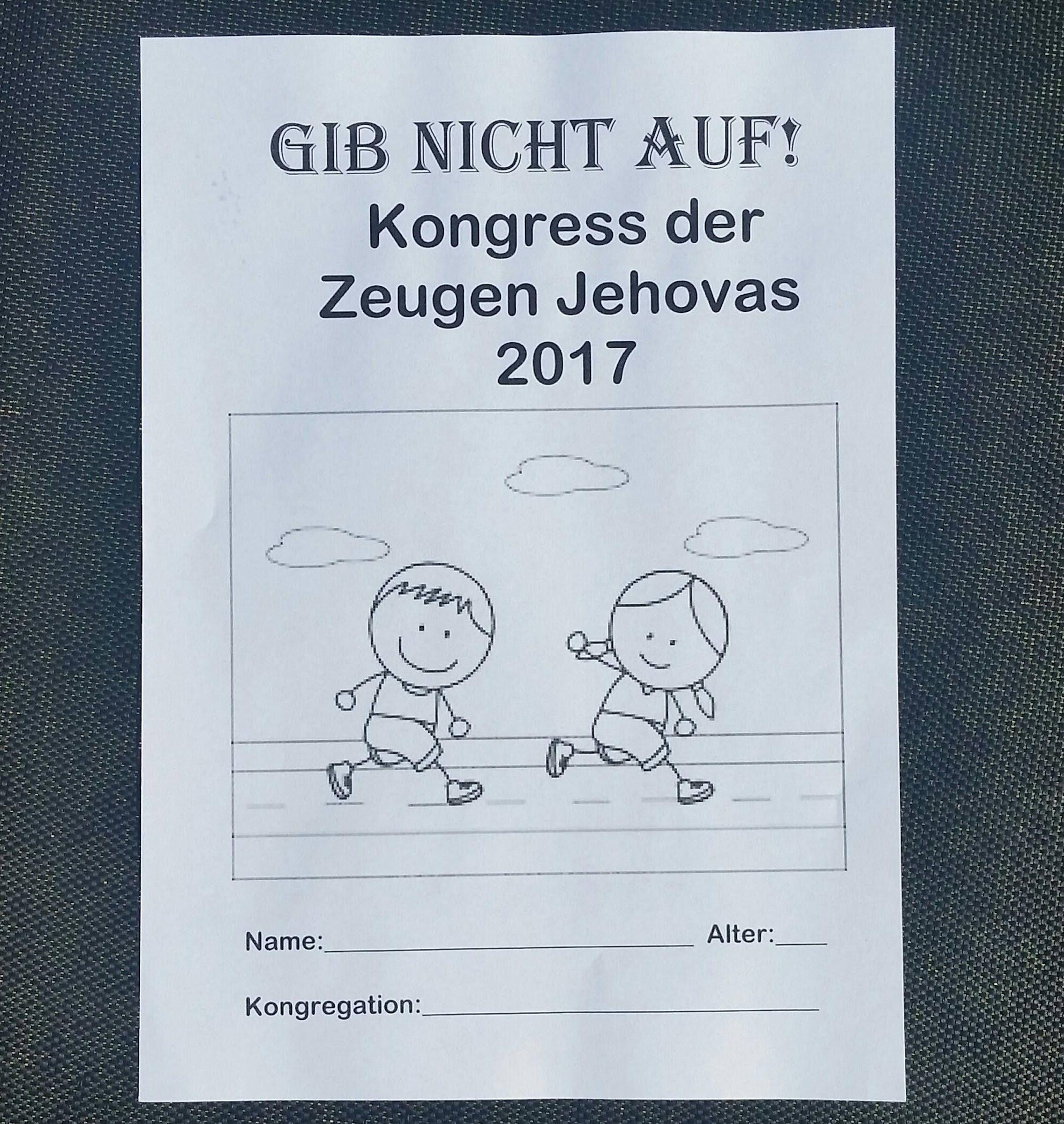 German 3 5yo Jw Notebook For Regional Convention By