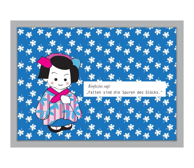 Falten sind die Spuren… Konfuzius Glückwunschkarte - http://www.1agrusskarten.de/shop/falten-sind-die-spuren-konfuzius-gluckwunschkarte/    00000_1_81, Grußkarte, Illustration, Klappkarte, Spruch, Sprüche, Support, Weisheit, Weisheiten00000_1_81, Grußkarte, Illustration, Klappkarte, Spruch, Sprüche, Support, Weisheit, Weisheiten